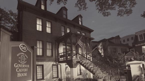 Exterior of Governor Calvert House