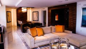 Hilton McLean - Living Area