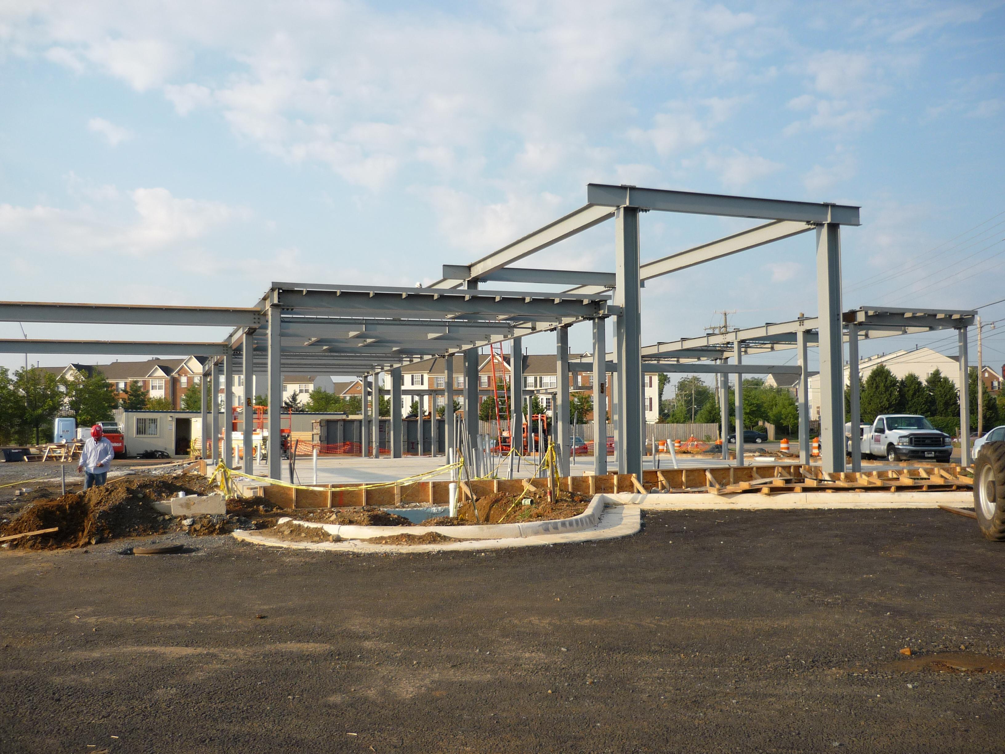 PNC Dulles - Frame during construction