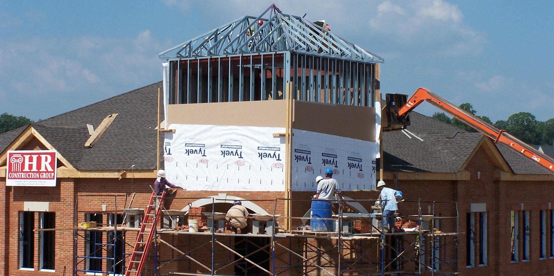 Suntrust Bank exterior renovation
