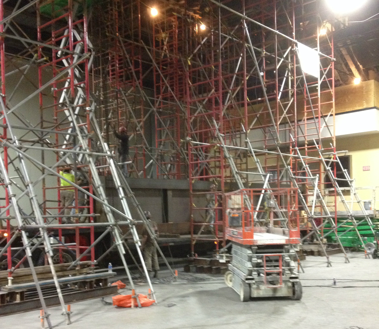 DC Convention Center Escalators
