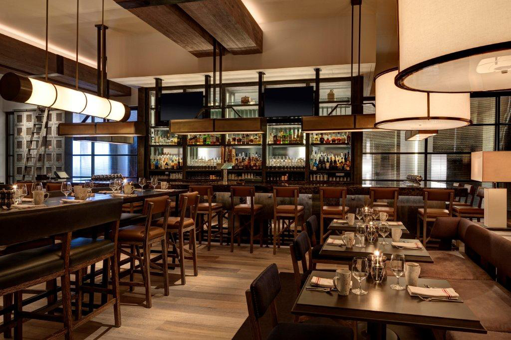 Loews Philadelphia Hotel restaurant renovation