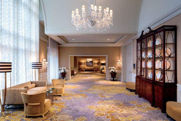Ritz Carlton Pentagon City renovated corridor