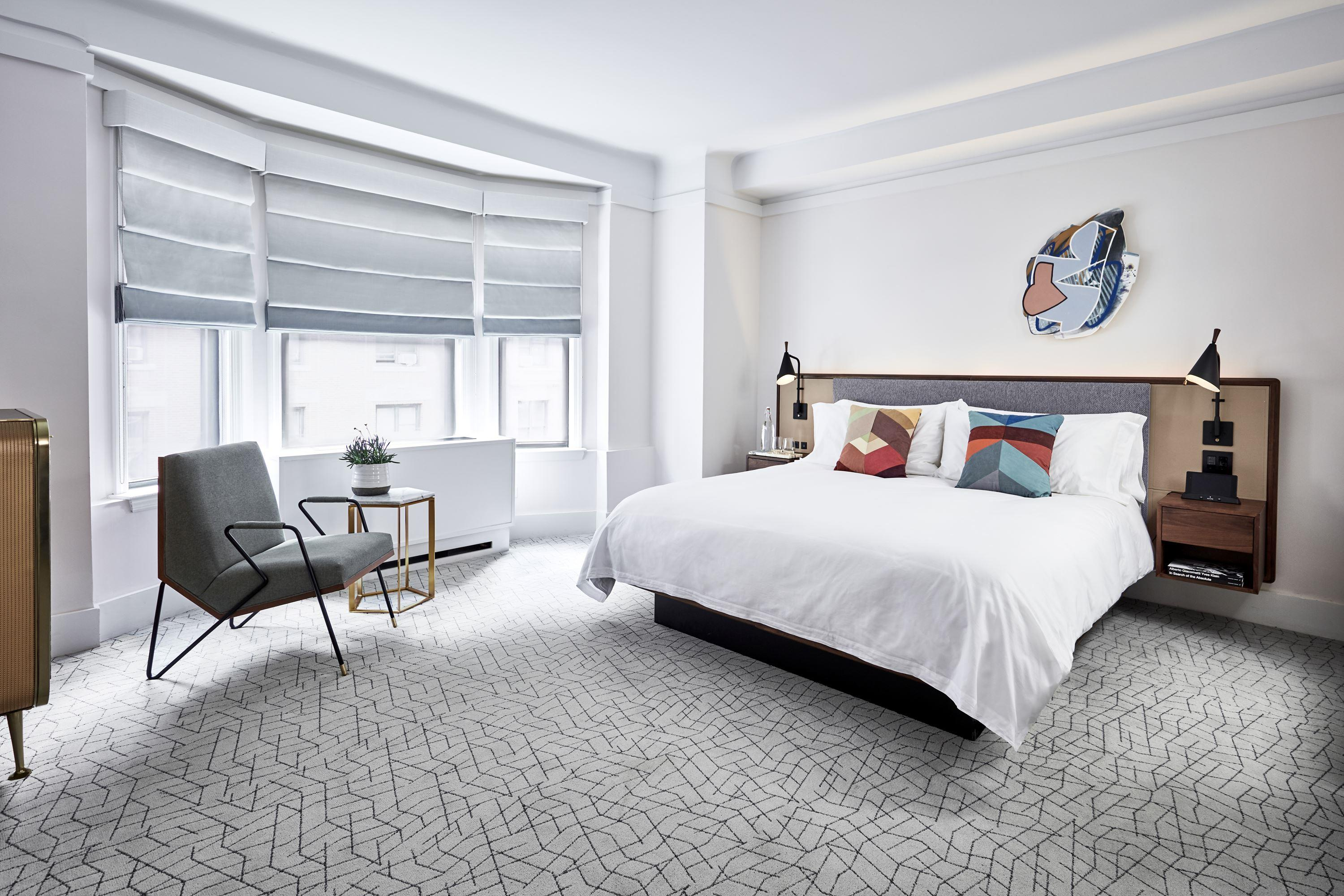 The James New York - NoMad king bed guestroom