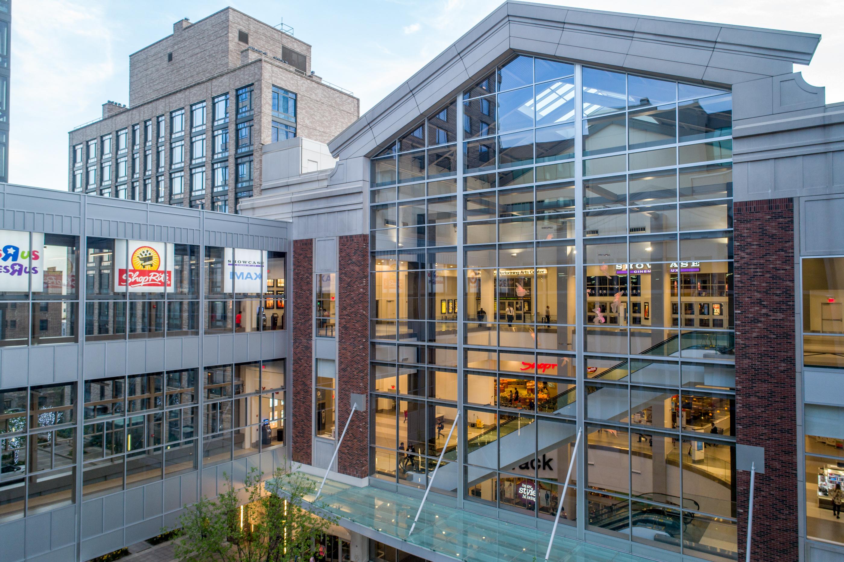 Exterior of City Center windows