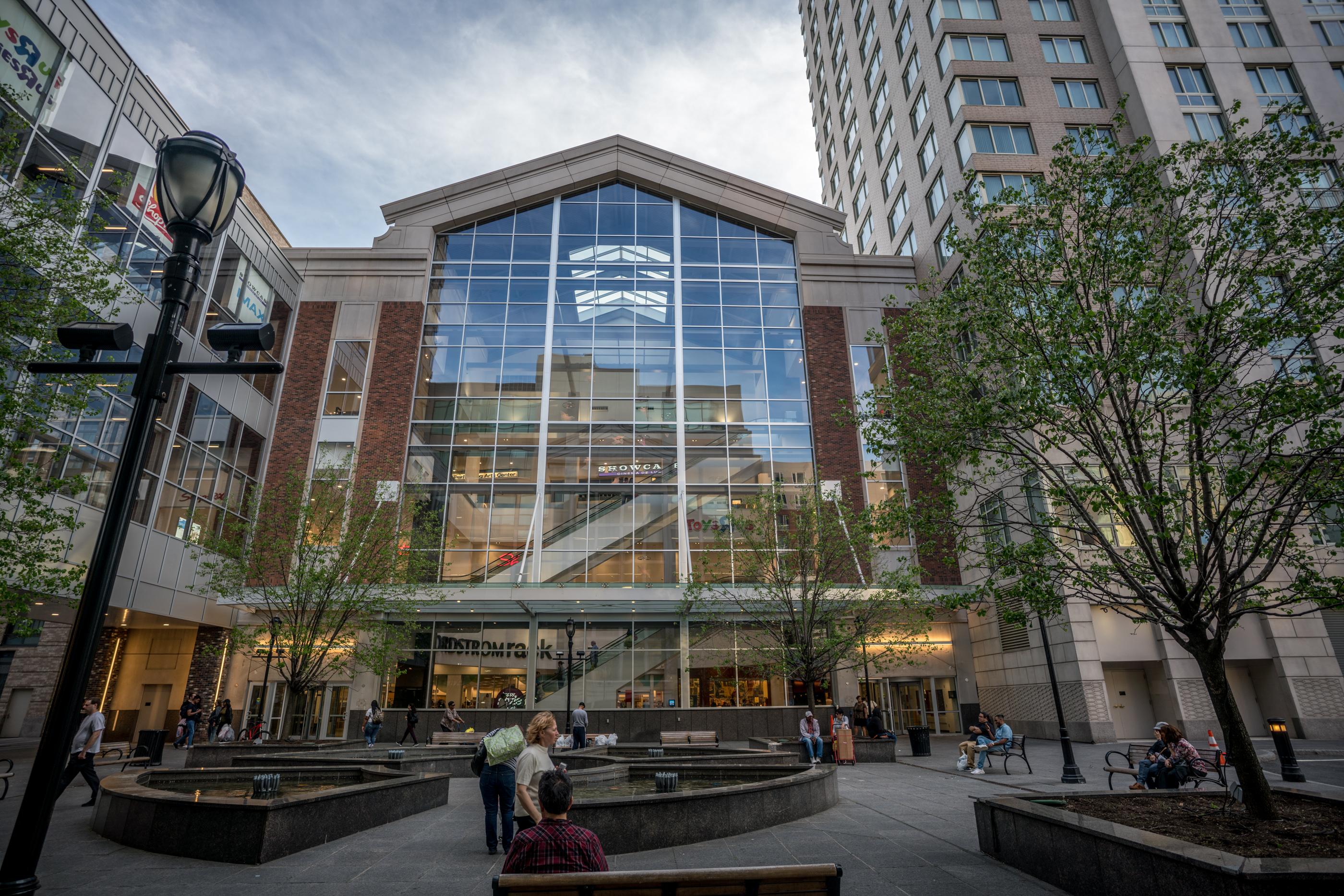 City Center exterior glass