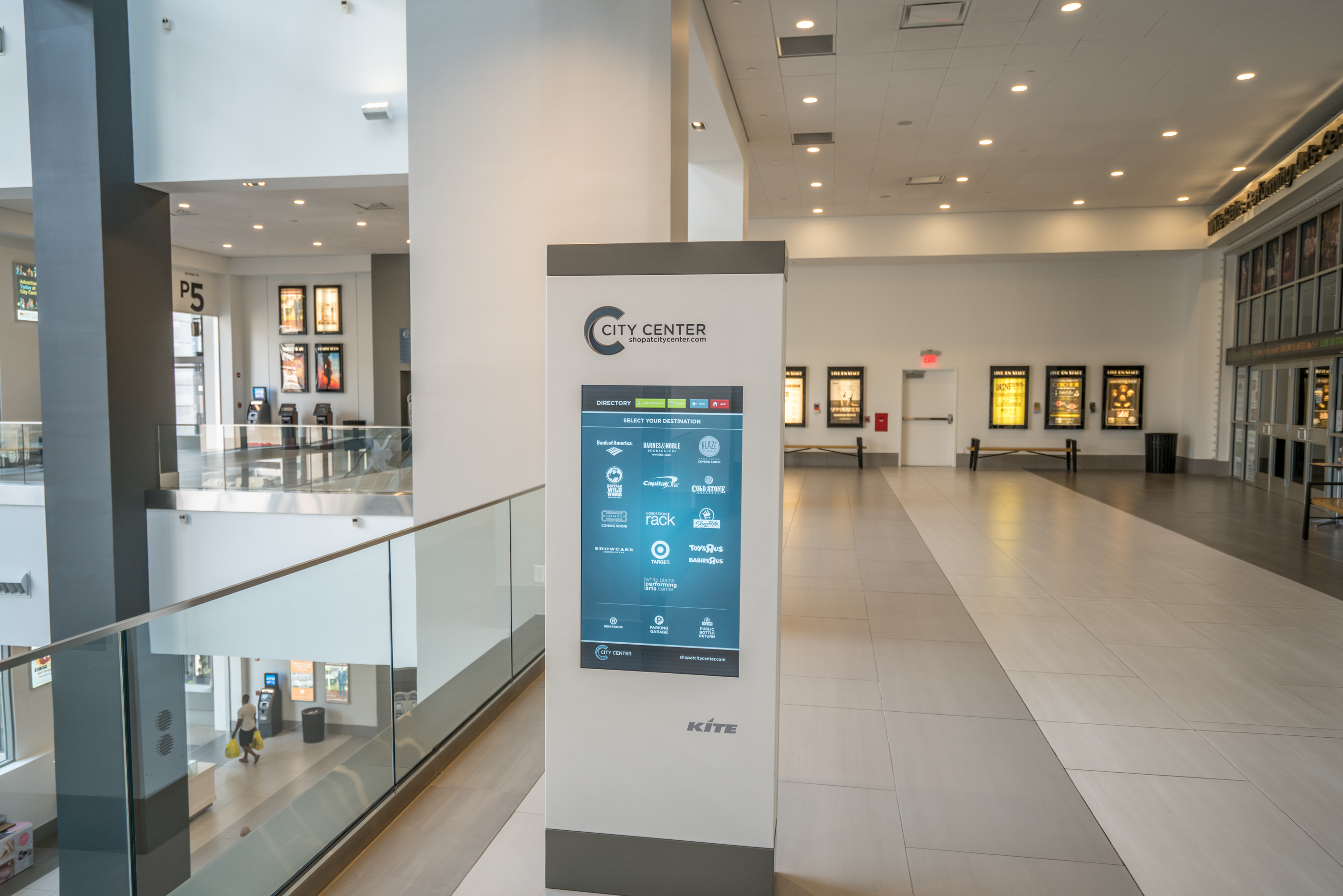 City Center at White Plains directory