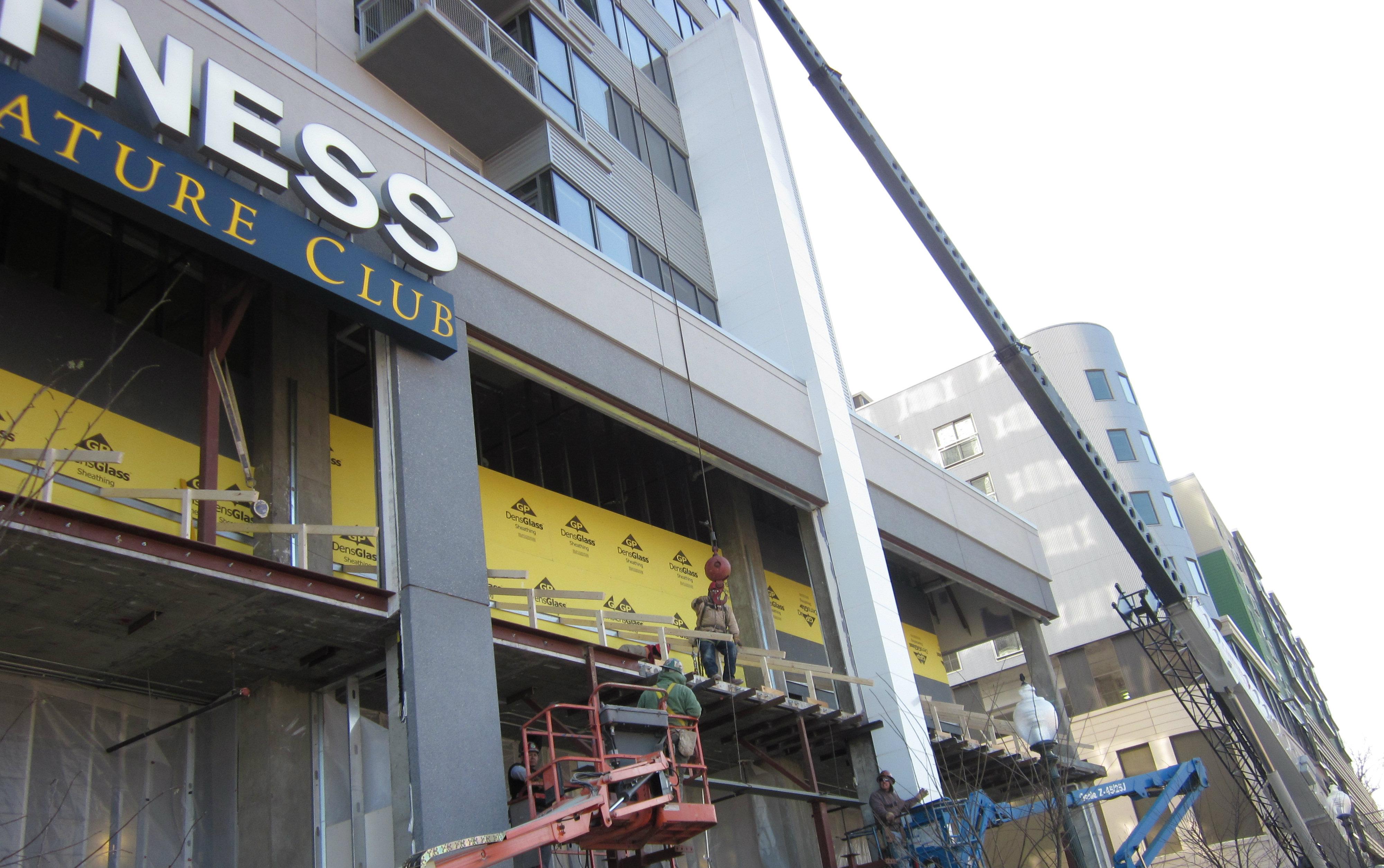 North Bethesda Market under construction