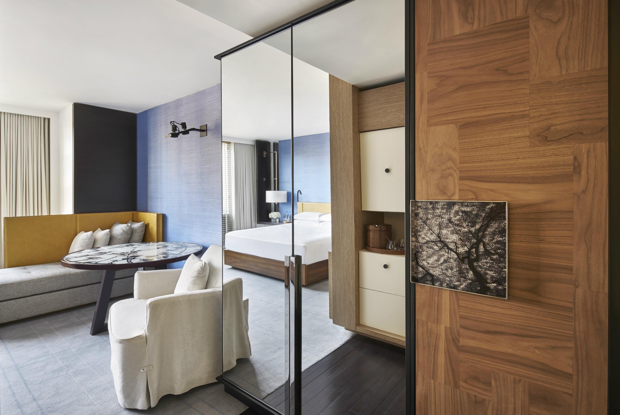 Park Hyatt deluxe king guestroom in Washington, DC