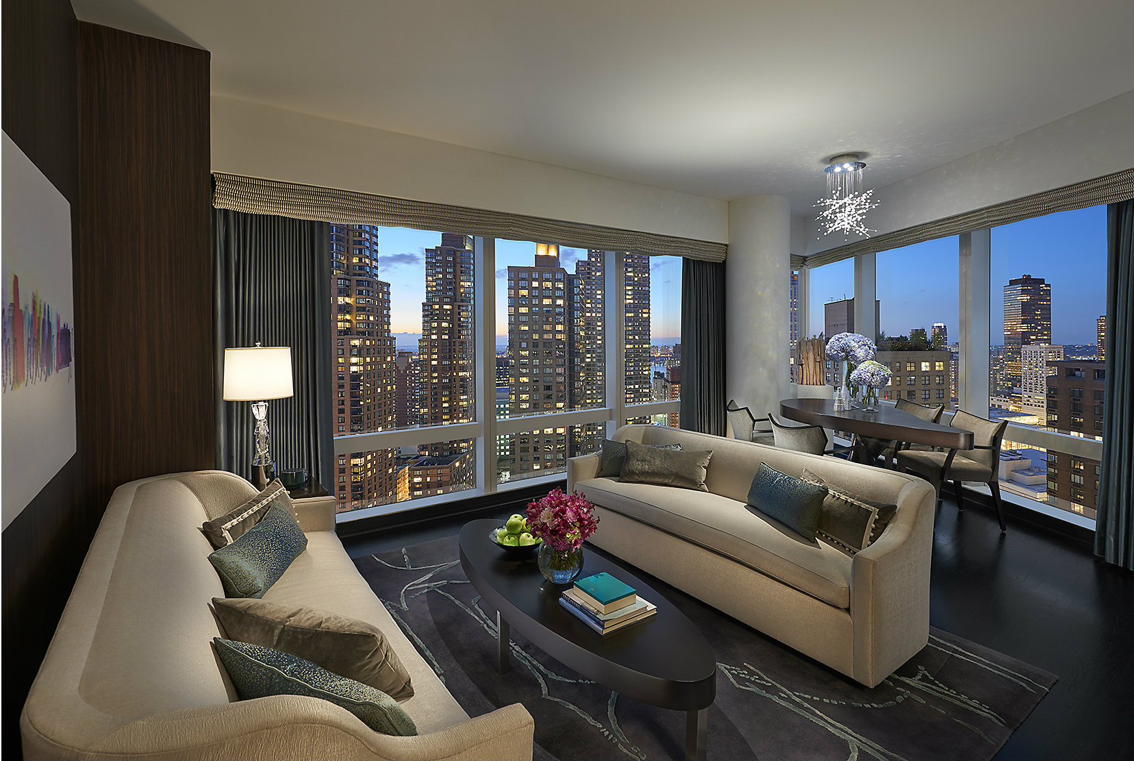 Renovated suite at the Mandarin Oriental