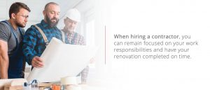 Remain focused on your work by hiring a contractor