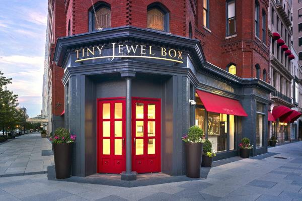 The exterior of Tiny Jewel Box