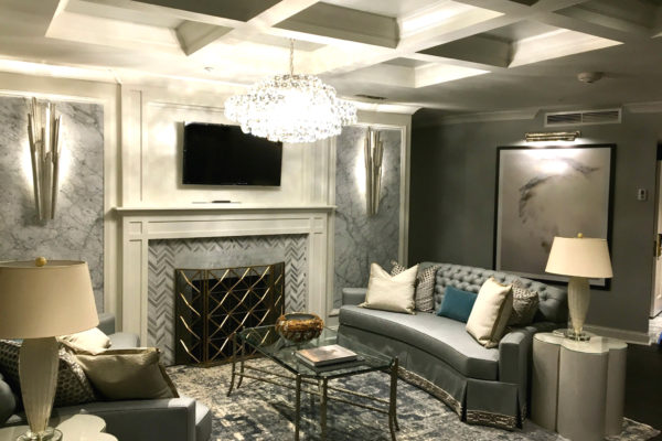 Presidential suite at the Melrose Georgetown Hotel