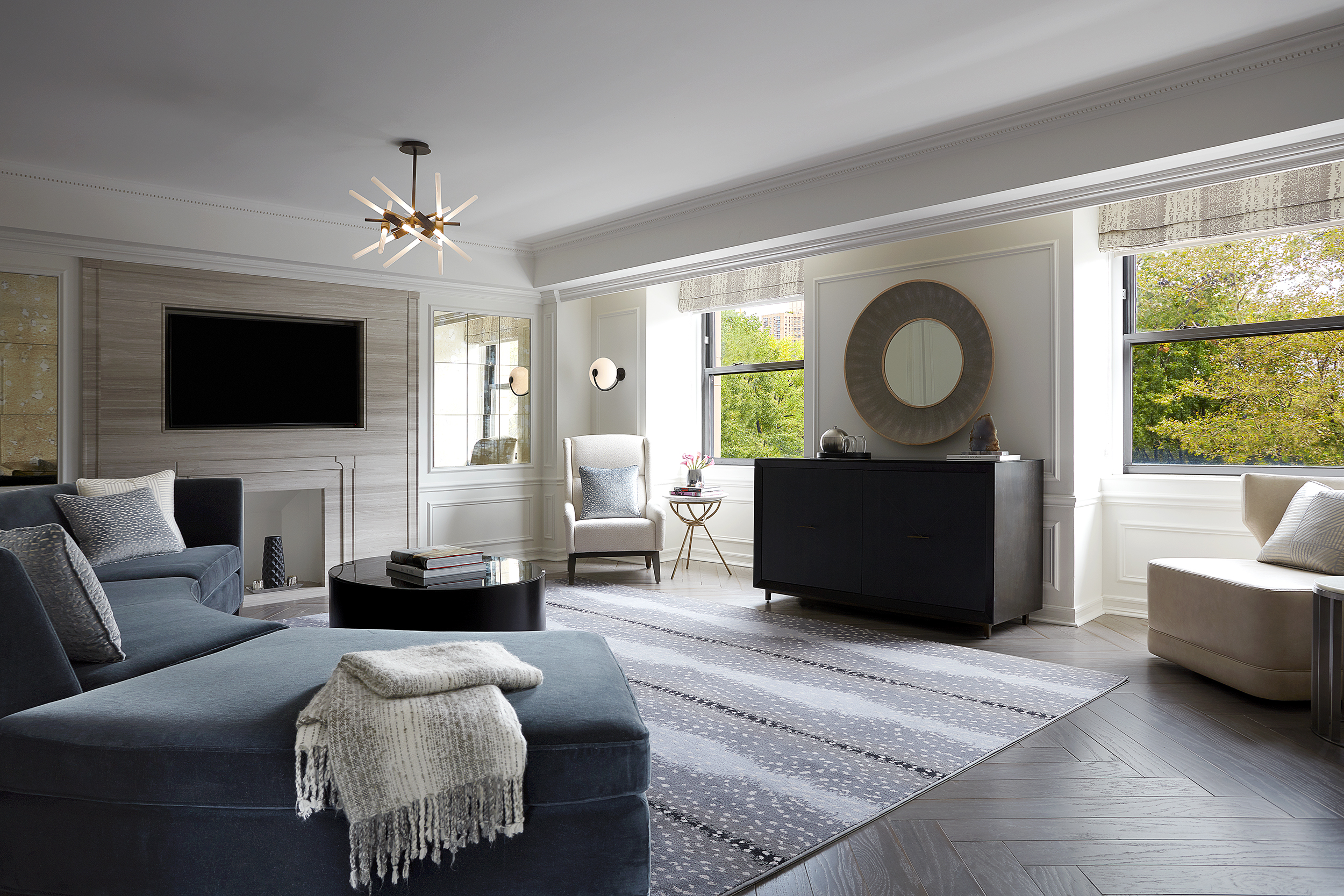 JW Marriott Essex House New York Deluxe Suite with Central park view