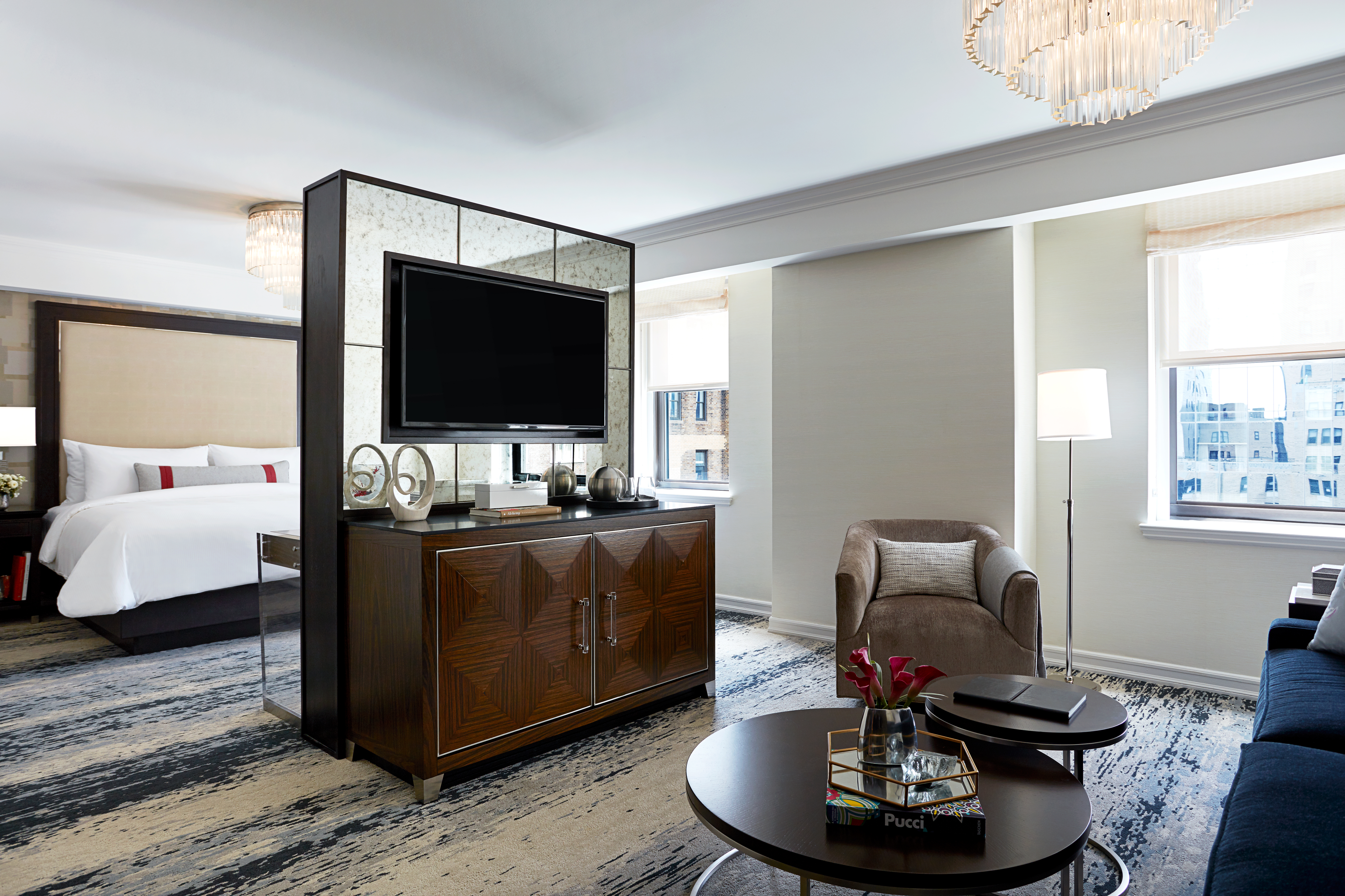 JW Marriott Essex House junior suite