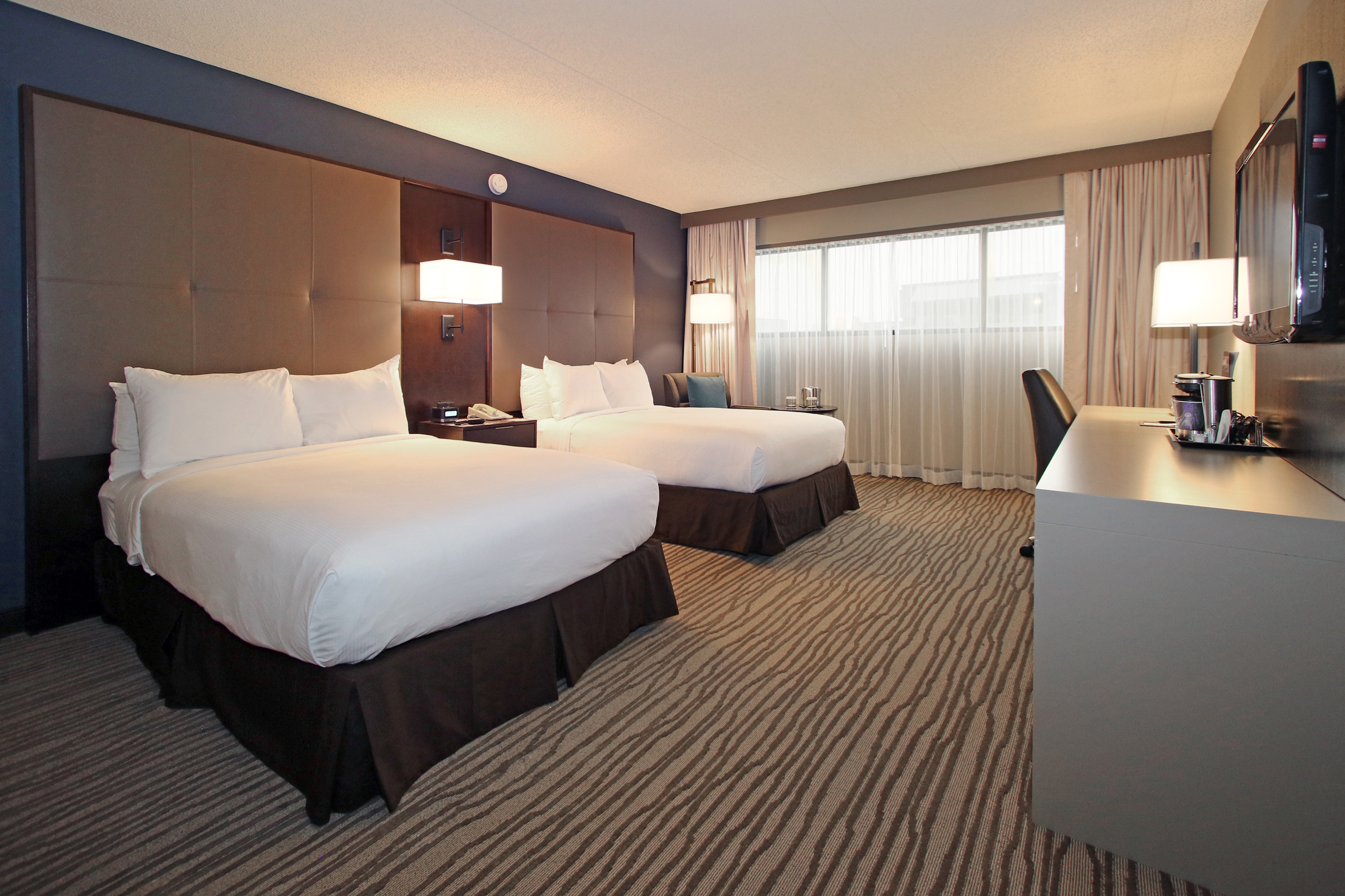 DoubleTree by Hilton Hotel two bed guestroom