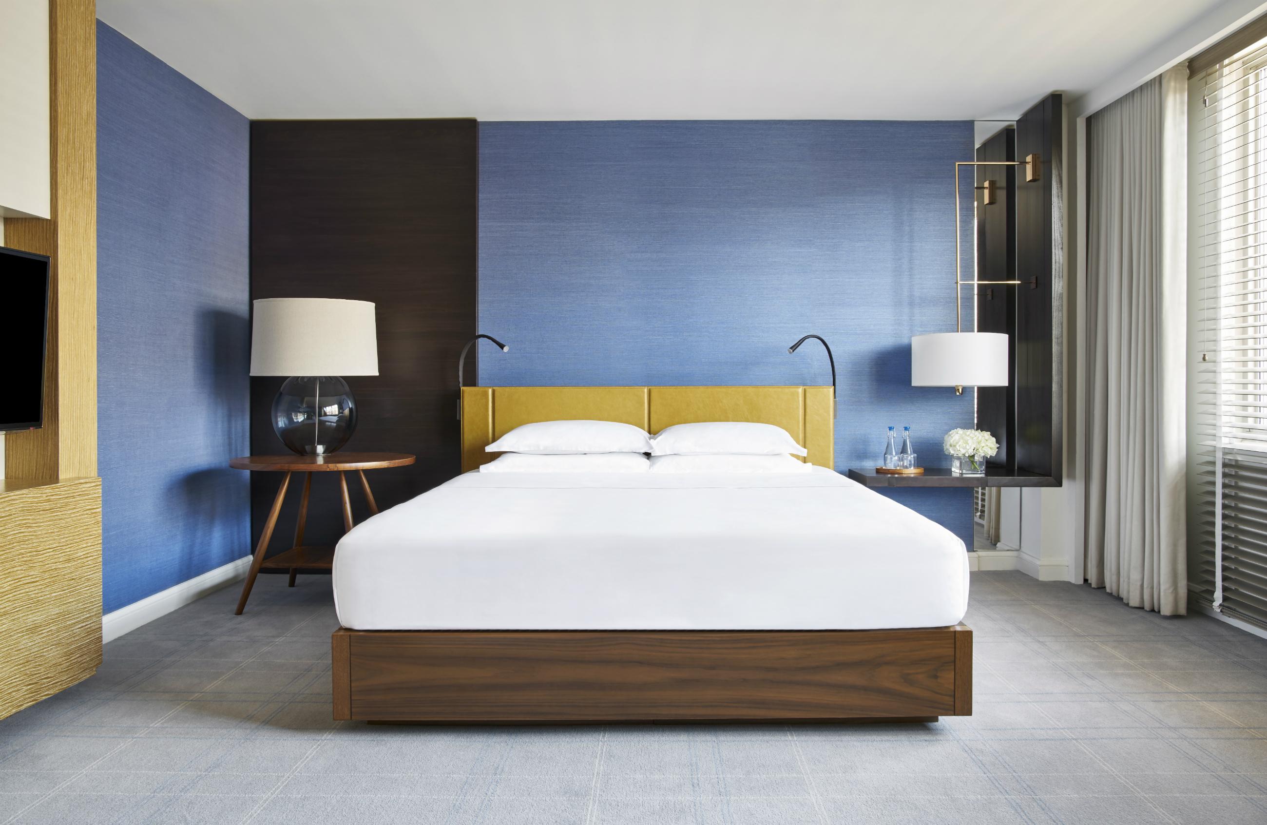 Park Hyatt king bed guestroom