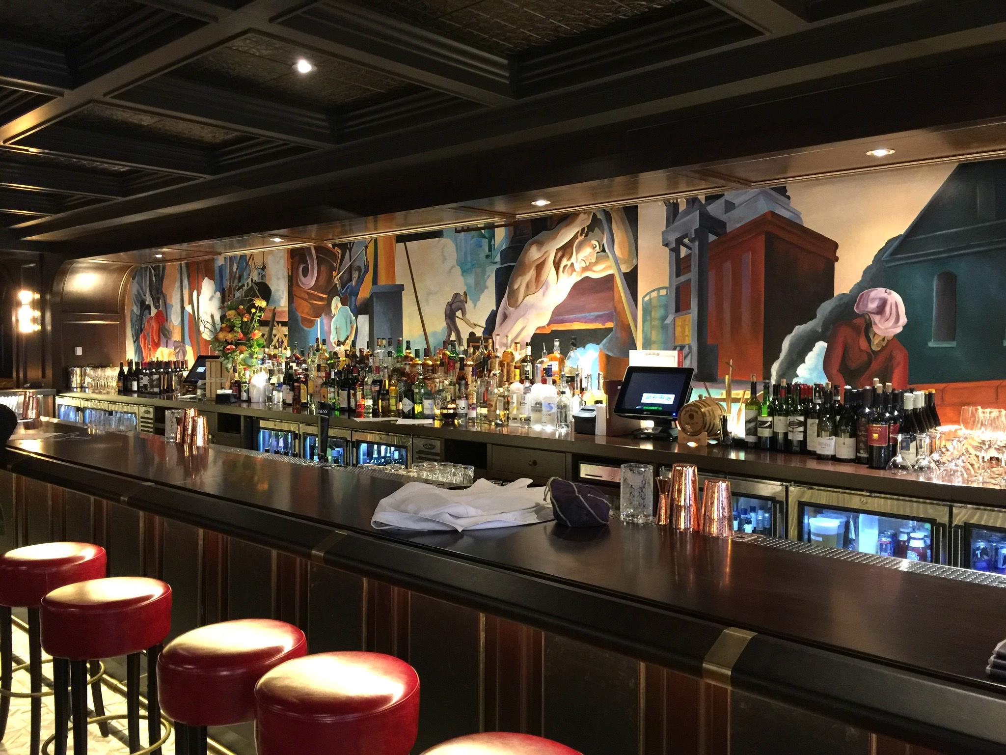 Rare Steak & Seafood Washington, DC bar