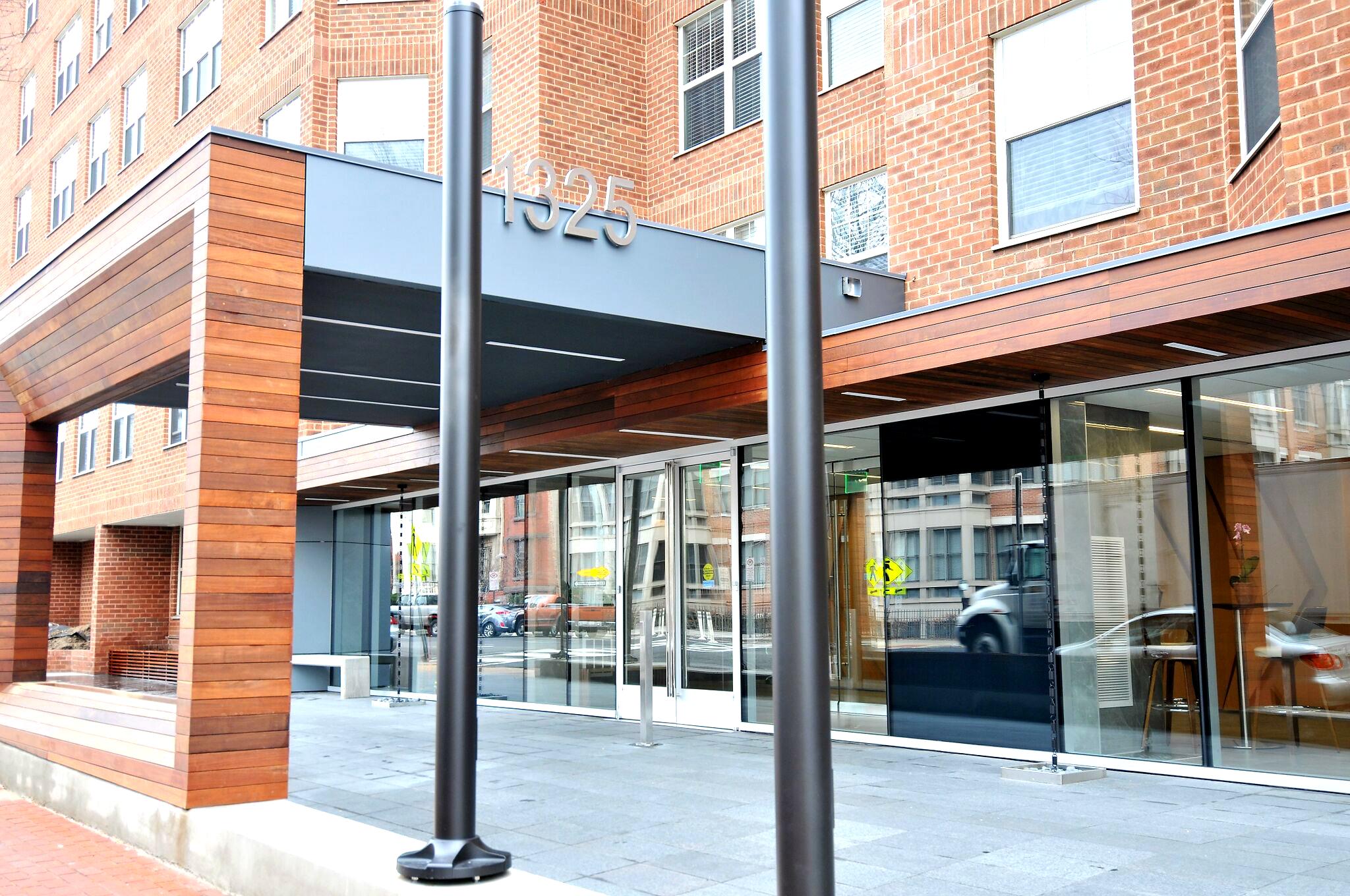 Latrobe Apartments front entrance