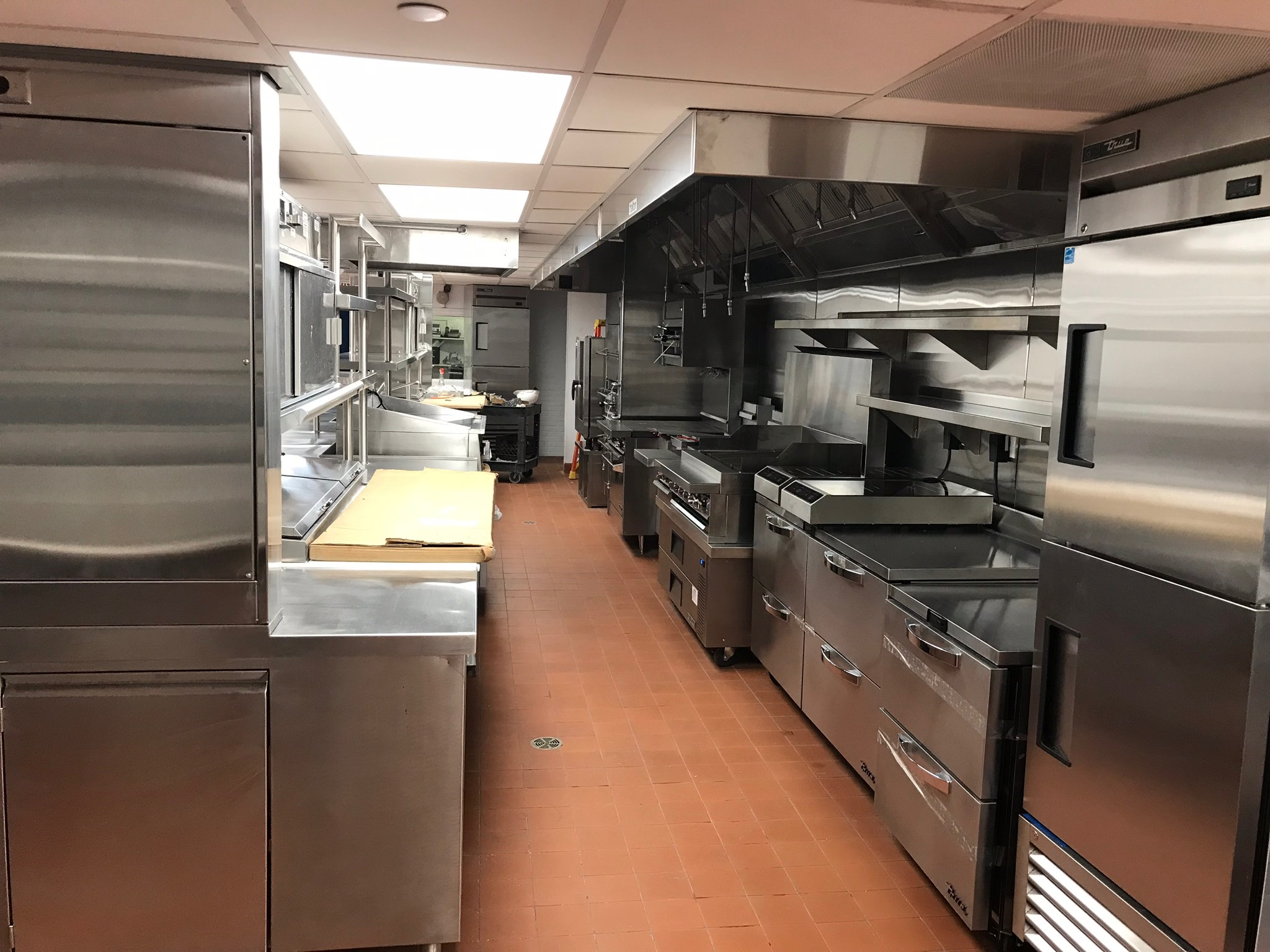 The Carlyle renovated kitchen ally