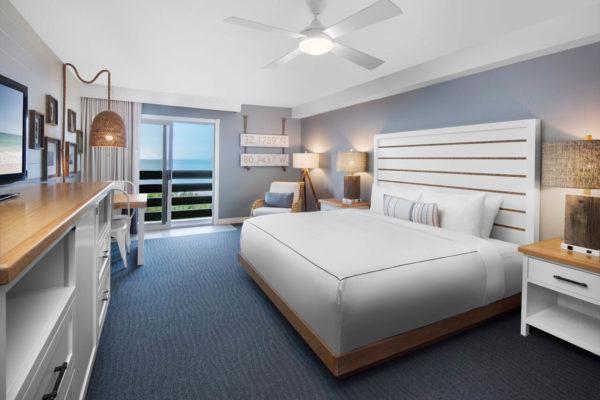 Beach House Holiday Inn king bedroom