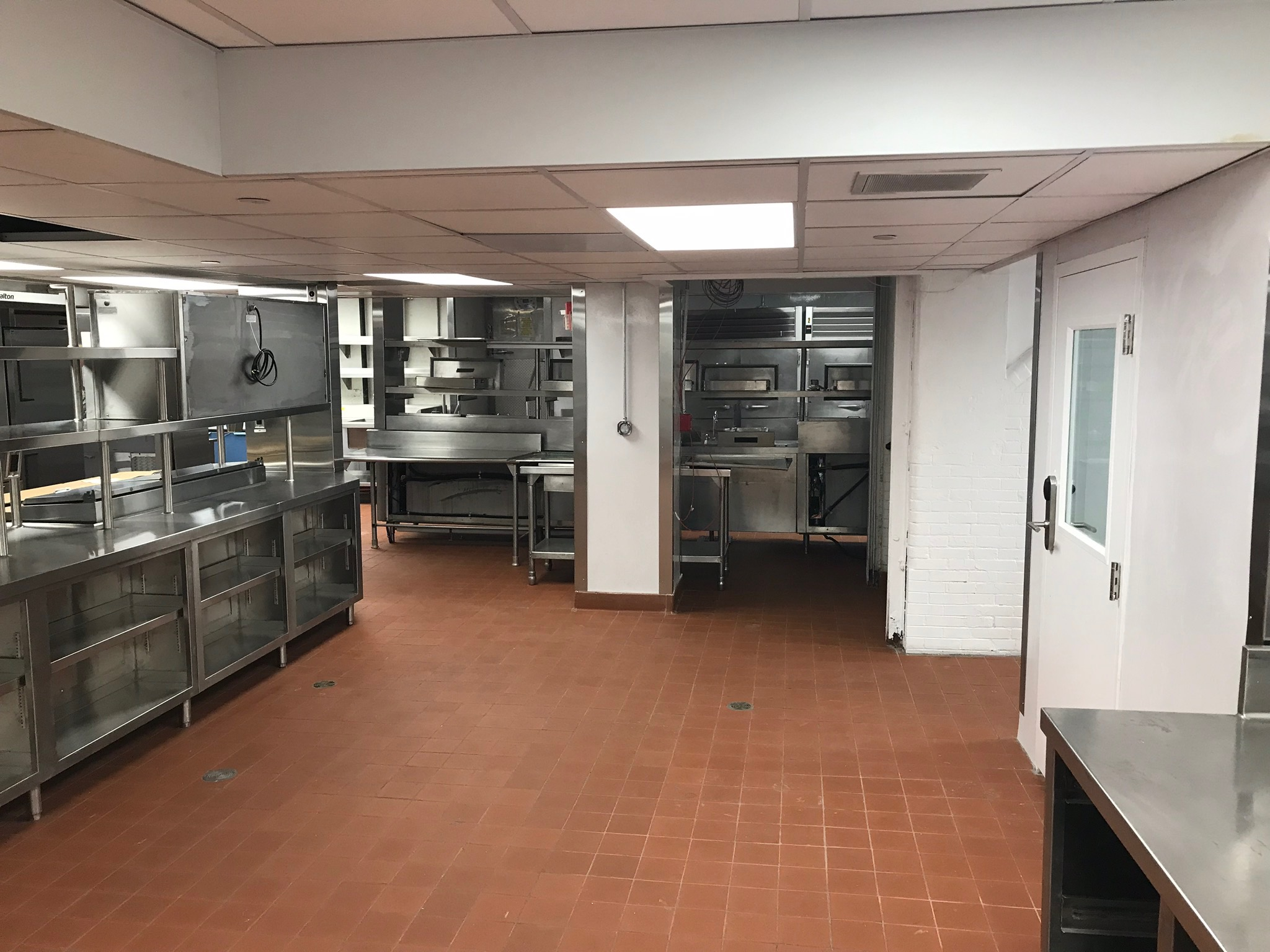 The Carlyle renovated kitchen