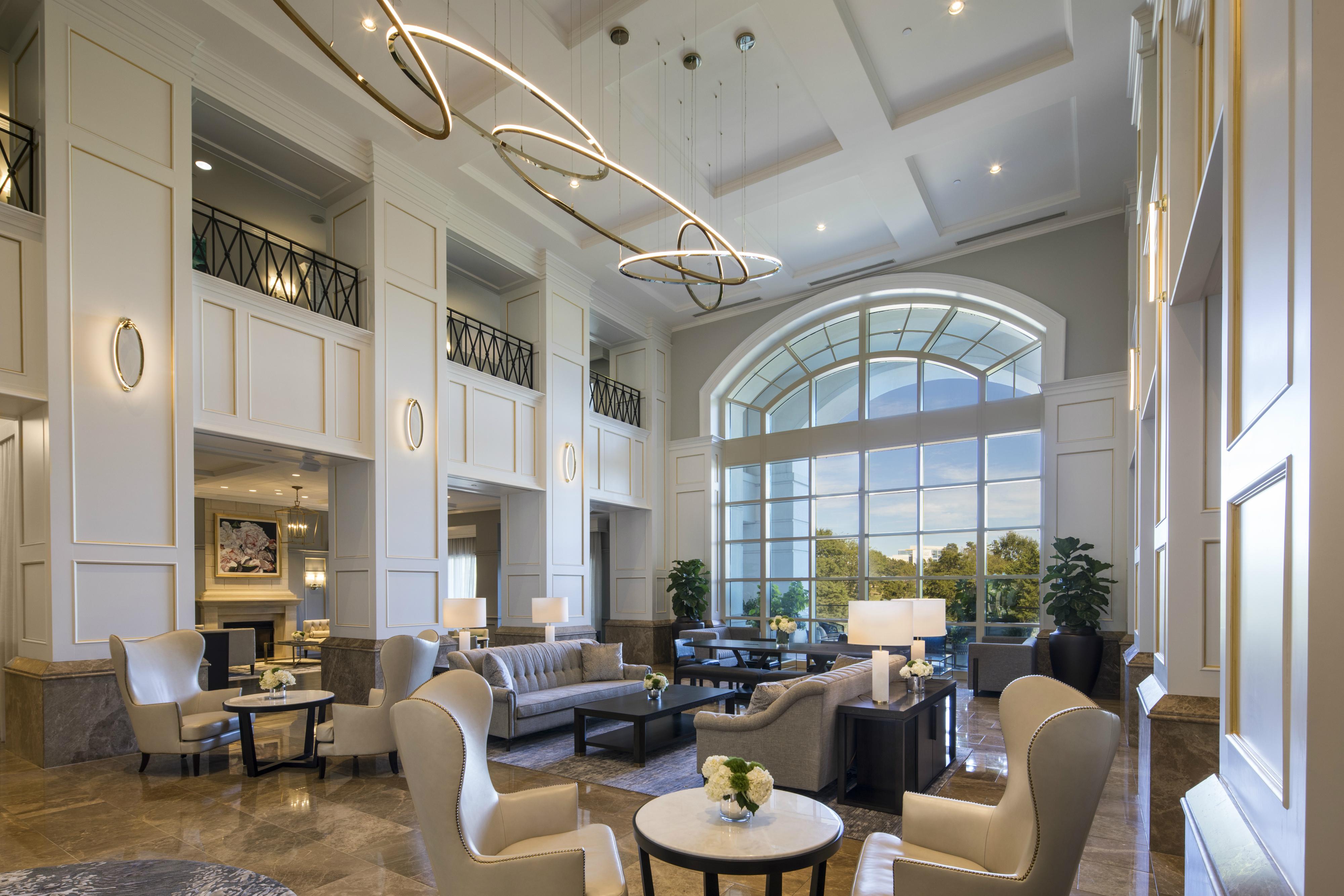 The Ballantyne renovated lobby