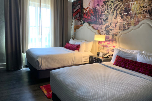 Two double bed guestroom at Hotel Indigo Atlanta Midtown