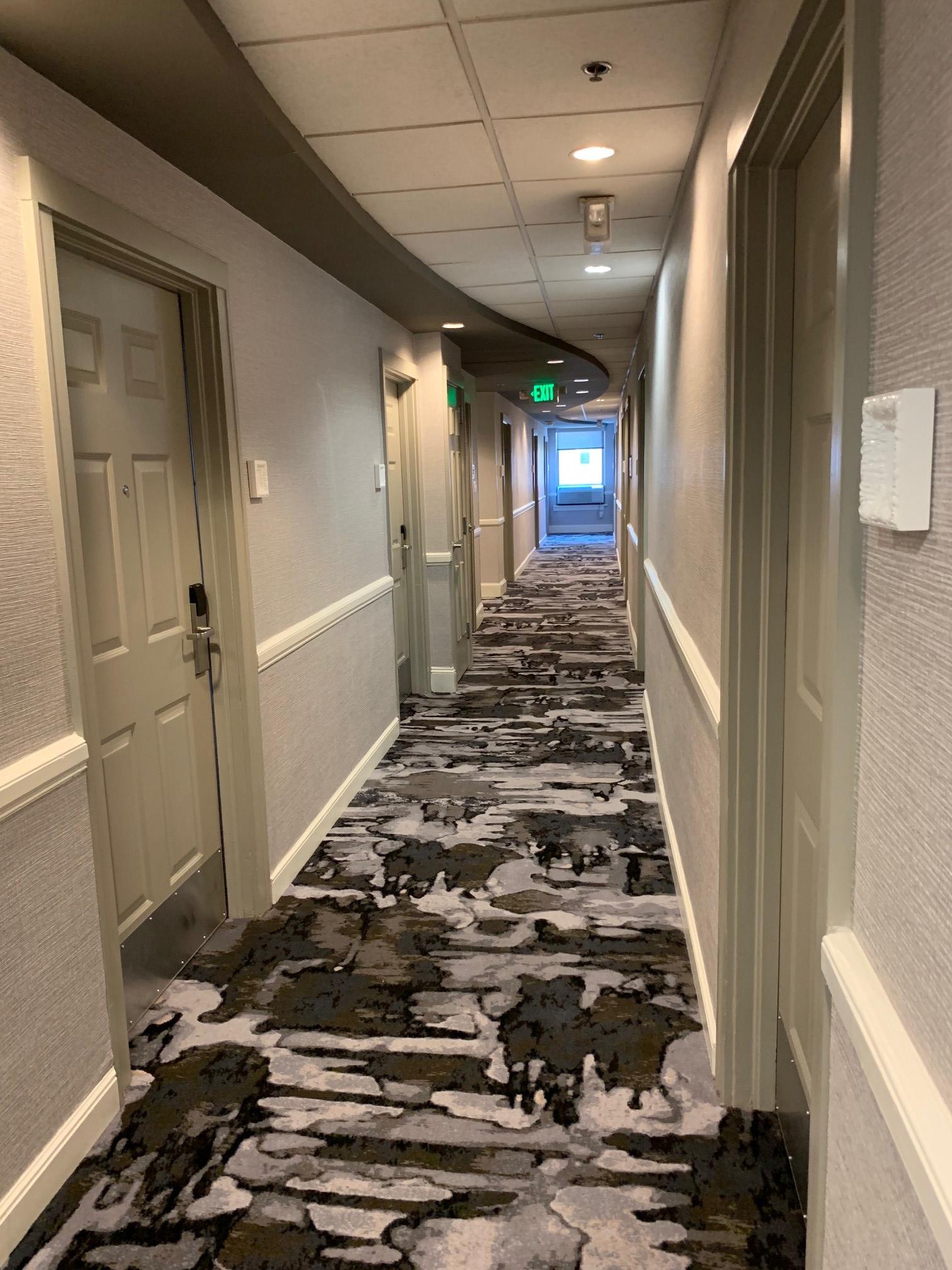 Hotel Indigo hallway