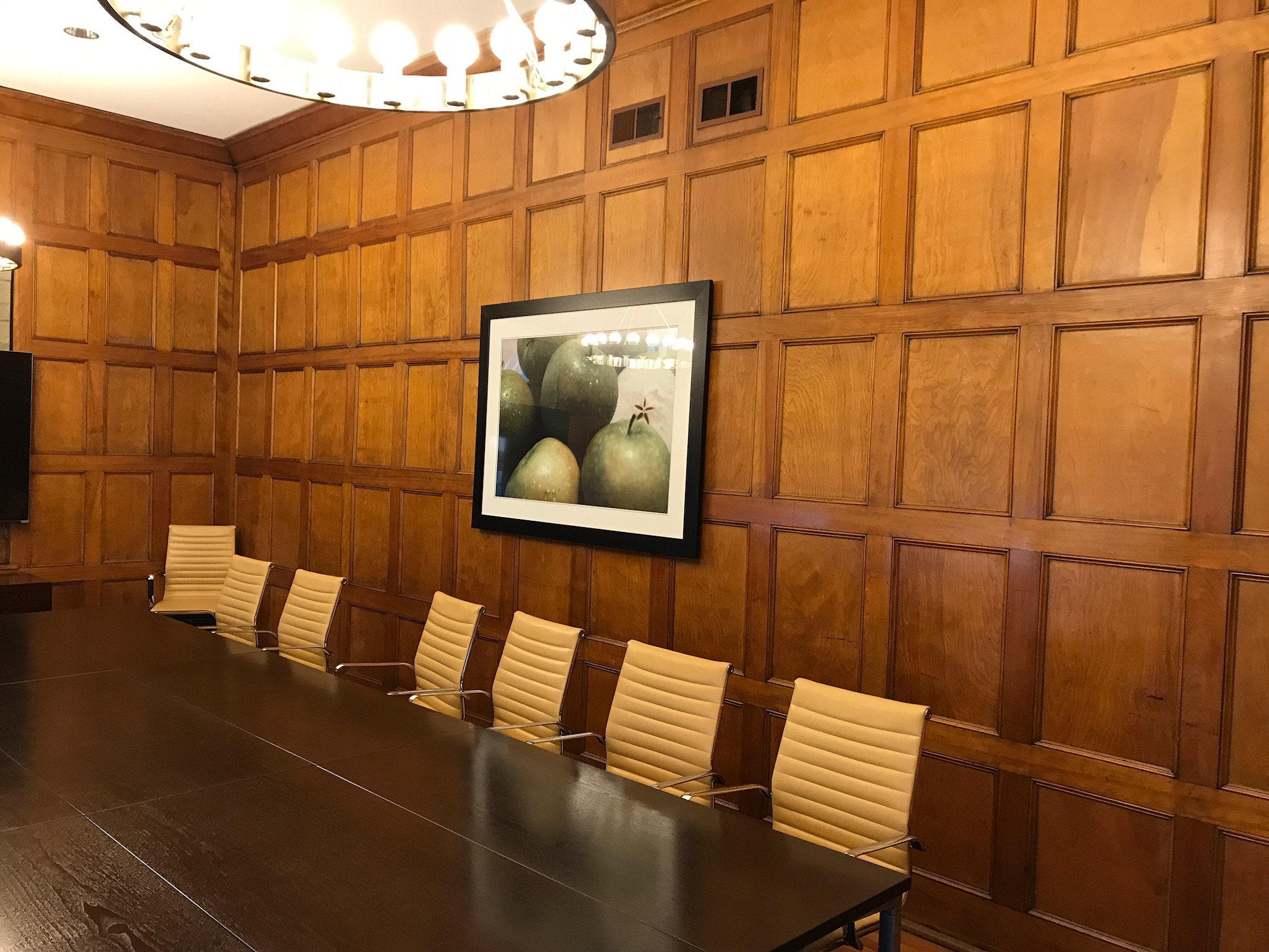 Hotel Indigo renovated meeting room