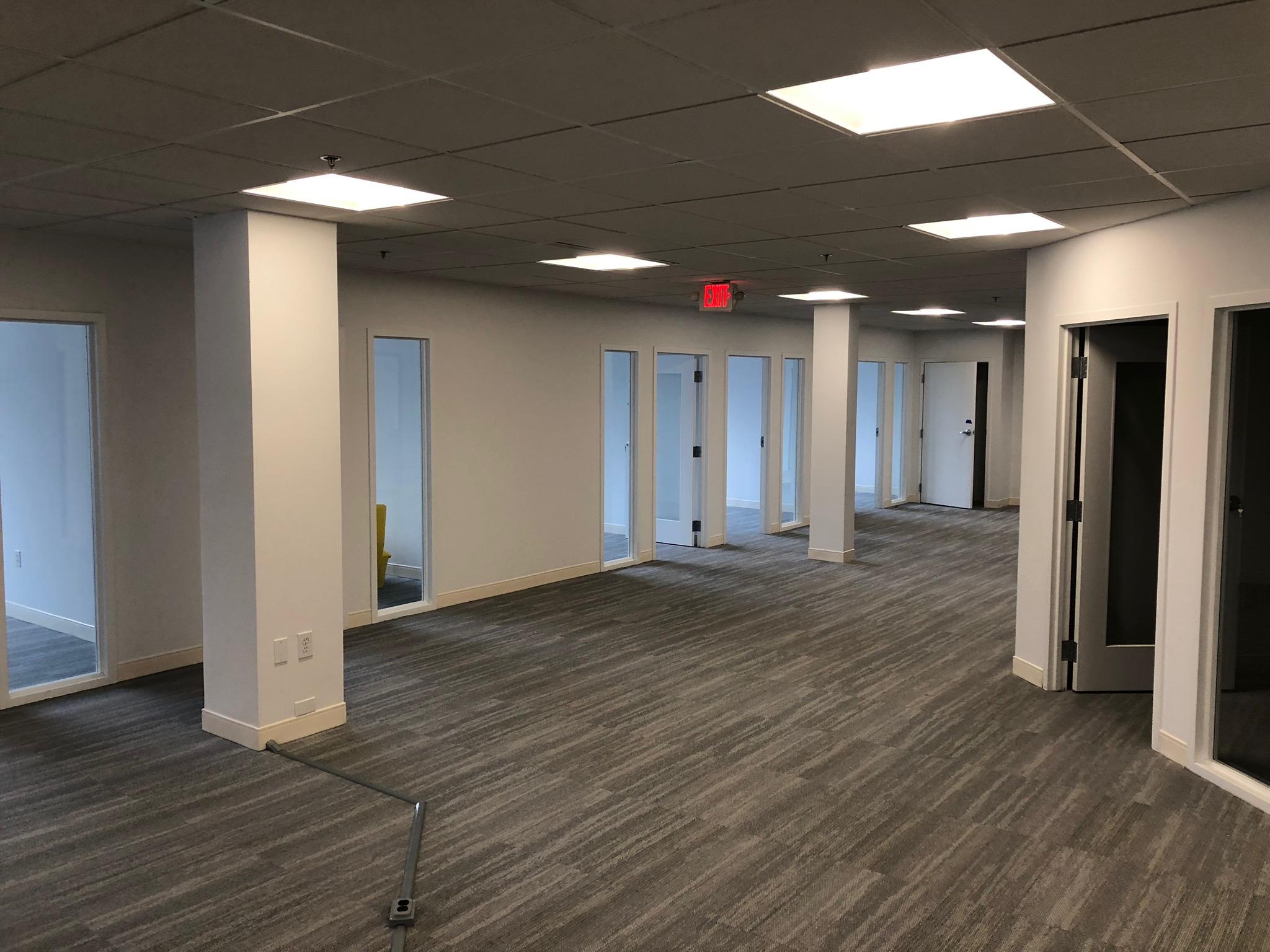 Cabin John Village office space renovation