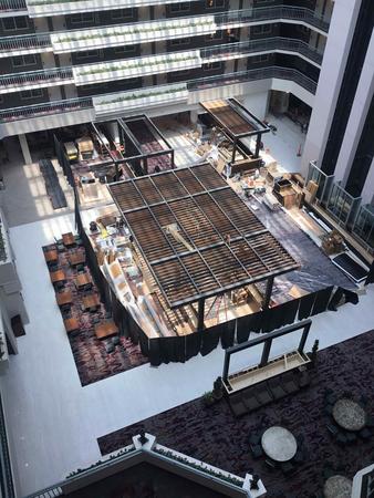 Atrium lobby at Embassy Suites by Hilton Walnut Creek