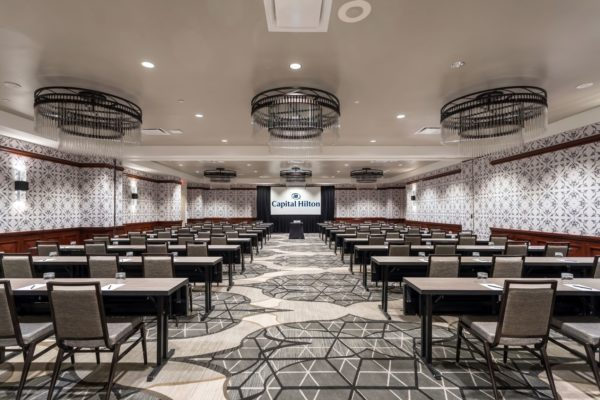 Large meeting room at Capital Hilton