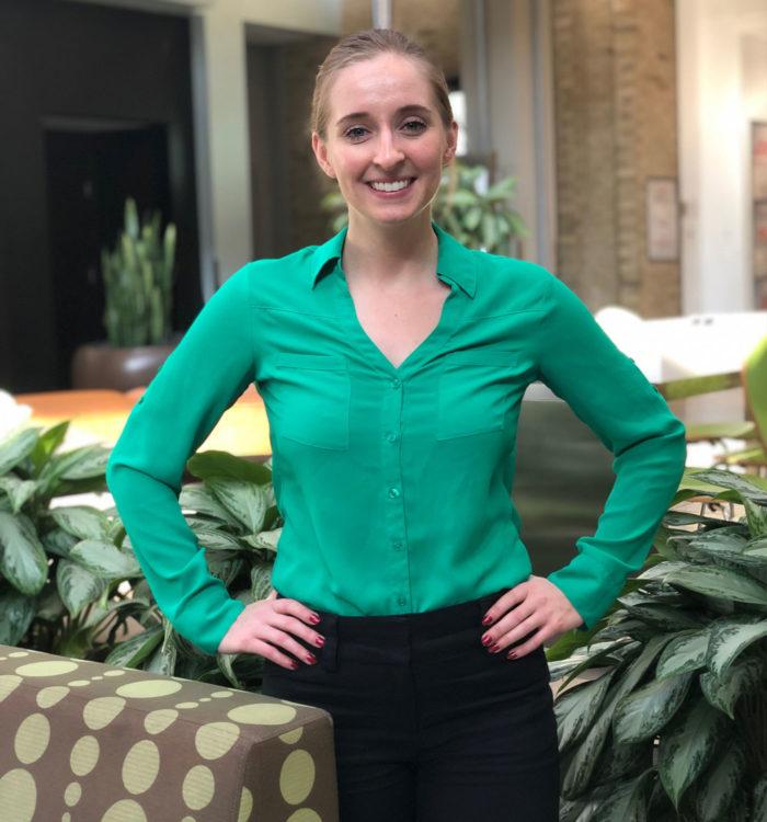 Aileen Weldon, team member at HR Construction