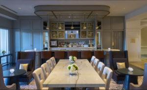 The Ballantyne bar/common space