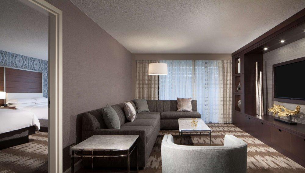 Hilton Tampa Airport Westshore suite