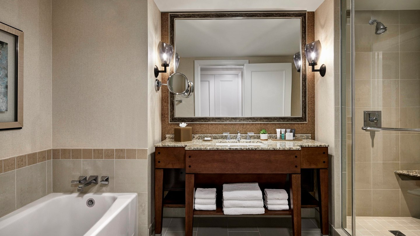 JW Marriott San Antonio renovated bathroom