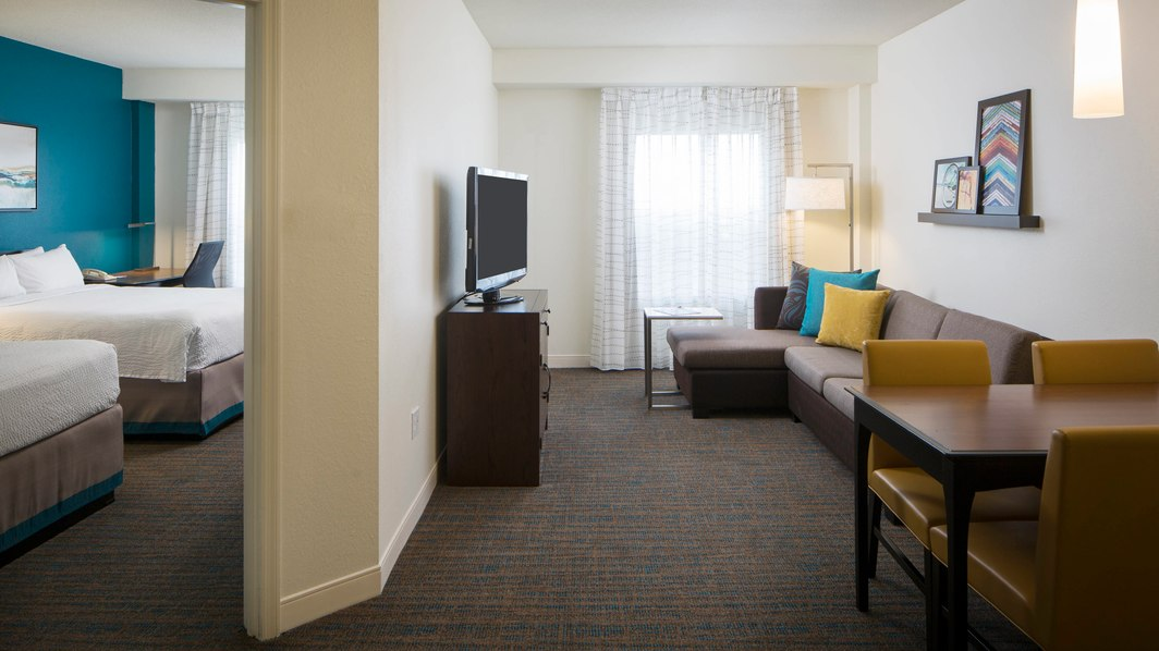 Guest suite at Residence Inn in Orlando