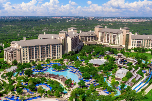 Aerial view of JW Marriott San Antonio Hill Country Resort and Spa
