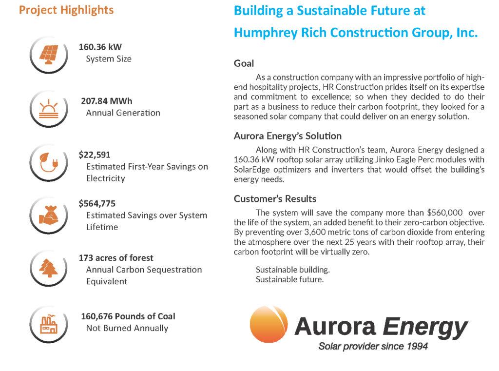 Aurora Energy Case Study