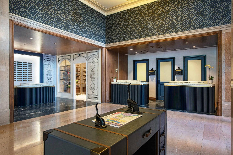 The Notary Hotel lobby