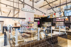 Build-A-Cookie bar at the Milk Bar New York City Flagship