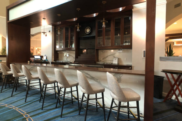 Bar at the Sheraton Wilmington South Hotel