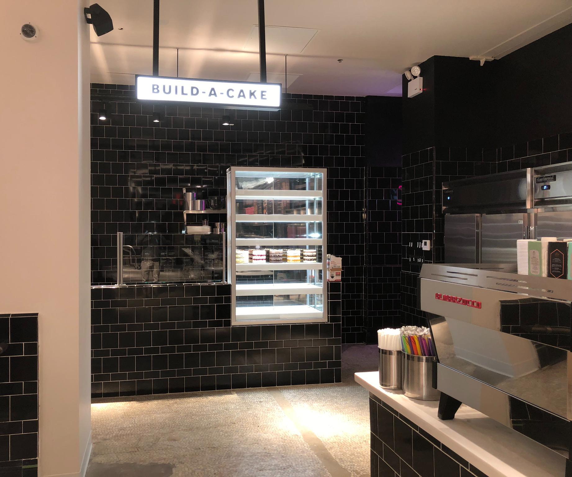 Build-A-Cake at Milk Bar New York City Flagship