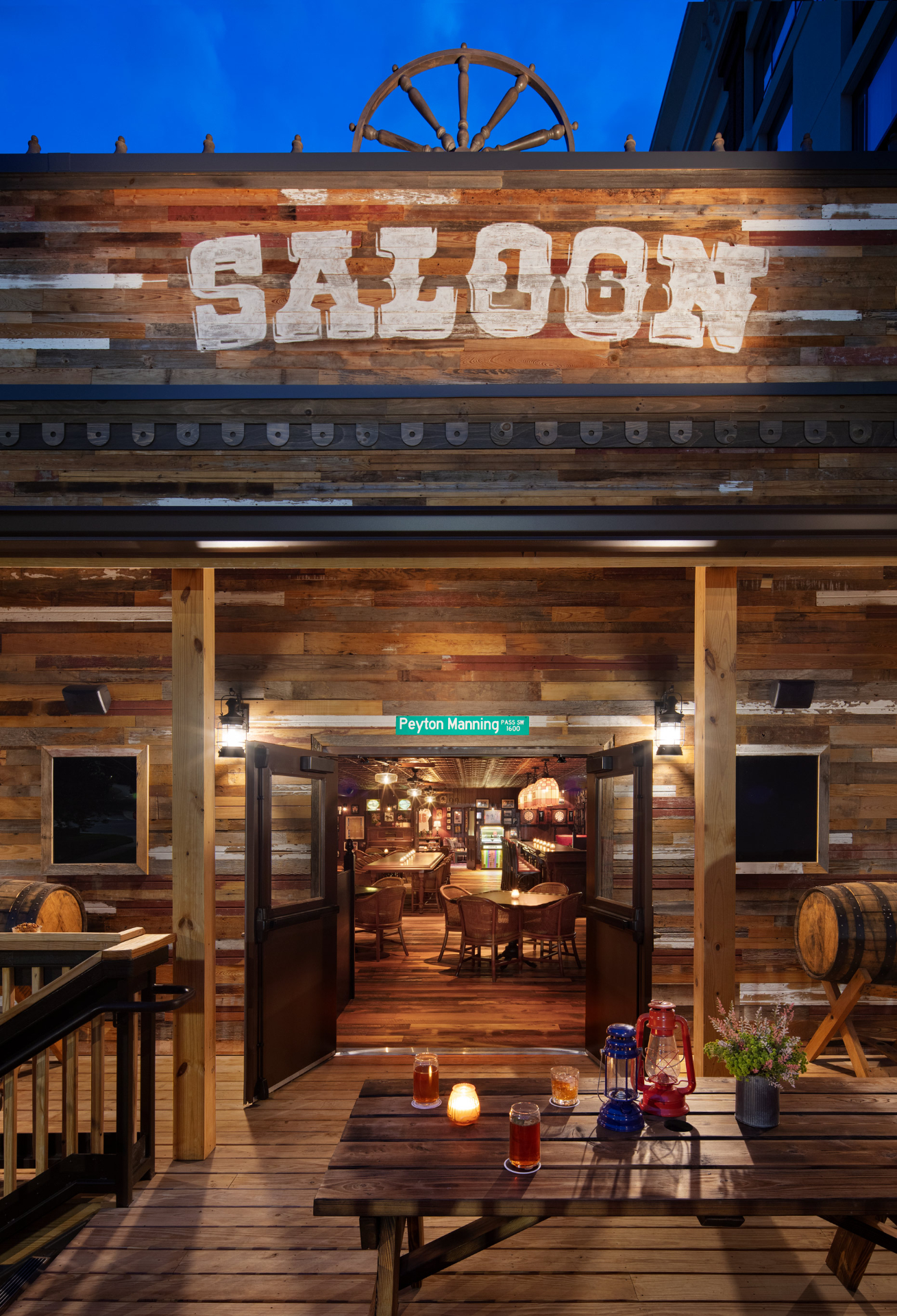 Saloon entrance at Graduate Knoxville