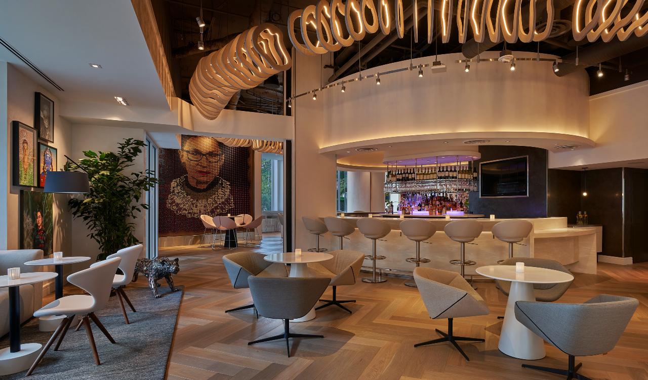 Hotel Zena renovated public space